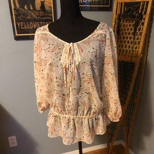 Woman's Long Sleeved Blouse